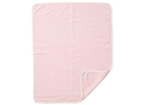 Wiegdeken Rumba katoen baby pink Klippan